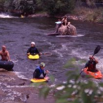 Image of Kayakers in Clear Creek