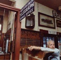Image of Robert Richardson at Colorado Railroad Museum