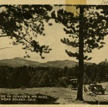 Image of 1466 Scene in Denver's Mt. Park near Golden