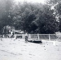 Image of 1948 Tucker Gulch flood at 10th Street