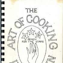 Image of Cookbook of recipes compiled by the Xi Gamma Gamma chapter of Beta Sigma Phi. The cookbook is divided into sections: Hor d'oeuvres, pickles, and relishes; Salads, vegetables, and soup; meats, fish, and poultry; bread, rolls, and cookies; cake and pastry; desserts; and miscellaneous. The cookbook also includes advertisements for various businesses in Golden.