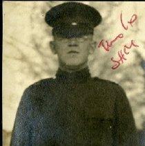 Image of Sam Koenig in W.W. I uniform