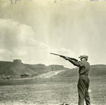 Image of Tracy Quick and George Broad shooting