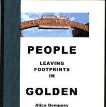 Image of People leaving footprints in Golden- Vol. 1: 1976-1988