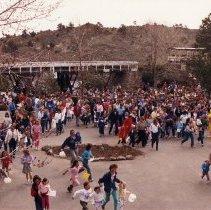 Image of 1988 Heritage Square Easter egg hunt