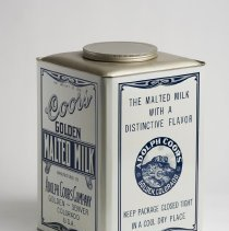 Image of Coors malted milk tin 25lb
