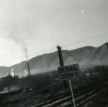 Image of Coors brewery and the railroad overpass