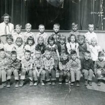 Image of Golden Central School, kindergarten class photograph