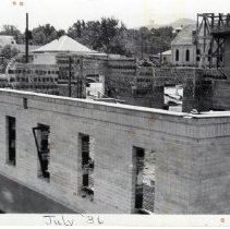 Image of Central School contruction