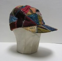 Image of quilt work cap, right
