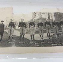 Image of left side of 1921 Golden football team