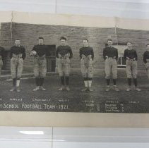 Image of right side of 1921 Golden football team