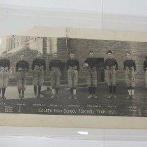 Image of Golden High School 1921 football team
