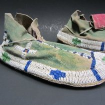 Image of Ute moccasin, right