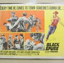 "Image of ""Black Spurs"" movie poster"
