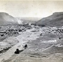 Image of Golden, Colorado by W.H. Jackson, color corrected
