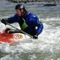 Image of Bart Pinkham in kayak