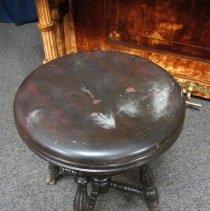 Image of Regal piano stool, top