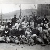 Image of Colorado School of Mines football team , c 1900