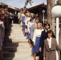 Image of CSM students on steps