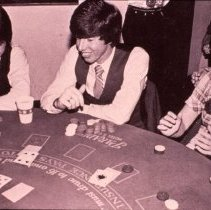 Image of CSM students gambling