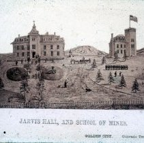 Image of Jarvis Hall, and school of mines building