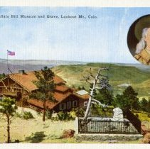 Image of 15666. Buffalo Bill Museum and Grave, Lookout Mt., Colo.