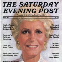 Image of The Saturday Evening Post, April 1985, cover