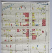 Image of 1886 Sanborn map reproduction, part 2