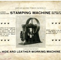 Image of Hide and Leather Working Machine Co. catalog