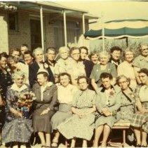 Image of 1955 Golden Garden club members