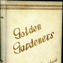 Image of Golden Gardeners scrapbook 1954-1955 cover