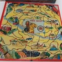 Image of Annie Oakley game, board