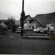 Image of Alley by Washington Avenue, 1950s
