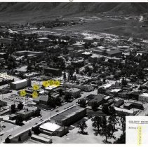 Image of Cliff Evans property 1961, parcels a-f