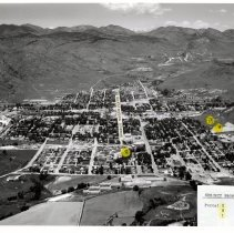 Image of Cliff Evans property 1961, parcels i-g