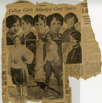 Image of newspaper clipping, G. Brown