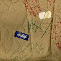 Image of G. Brown notes on envelope