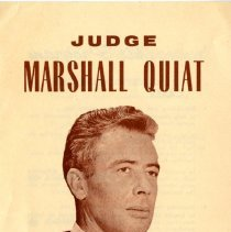 Image of Judge Marshall Quiat