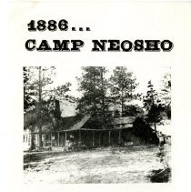 Image of Camp Neosho, Hiwan Homestead brochure