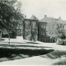 Image of Unused Chemistry building postcard