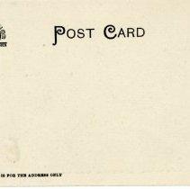 Image of Unused postcard of Hall of Engineering, reverse