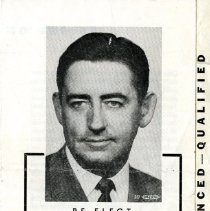 Image of Ken Raynie campaign brochure