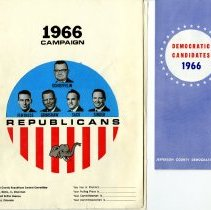 Image of 1966 campaign material