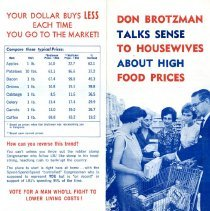 Image of Don Brotzman campaign brochure