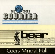 Image of Coors publications