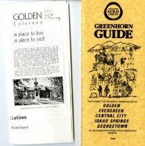 Image of Golden brochures