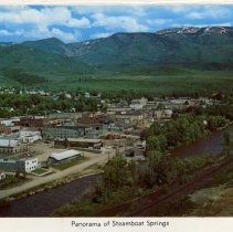 Image of Panorama of Steamboat Springs