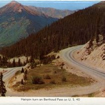 Image of Hairpin turn on Berthoud Pass on 40