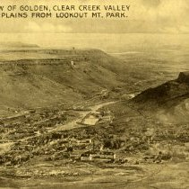 Image of 469 View of Golden from Lookout Mt. Park